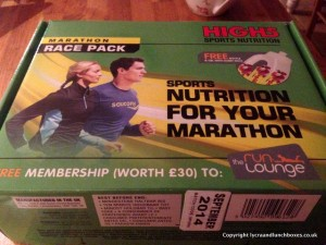 High 5 marathon pack
