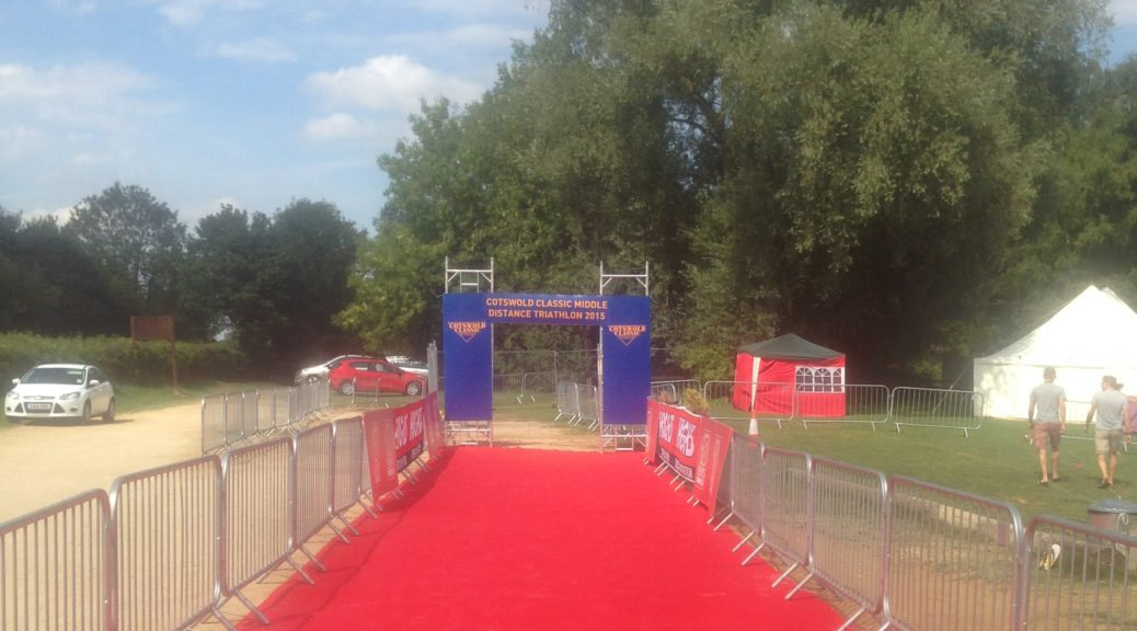 Cotswold classic finish line