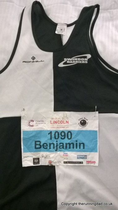 Kit ready for lincoln half